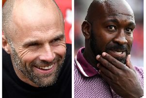 Paul Warne and Darren Moore