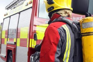 Crews were called to a flat in Atherton
