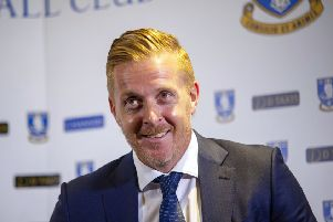 Garry Monk, pictured at yesterday's press conference. Picture Scott Merrylees