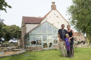 Howard and Louise Nicholson who face losing their Grade II listed house if HS2 is built on its current path