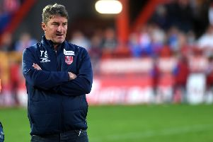 Business as usual for 'Hull Kingston'Rovers head coach Tony Smith.' (Picture: Jonathan Gawthorpe')