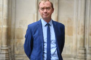 Tim Farron, who has backed devolution in the North to help tackle climate change. Photo: Kirsty O'Connor/PA Wire