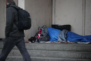 Homelessness is not just confined to big cities.