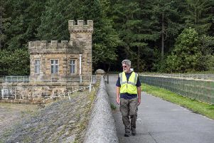 Mike Atkinson is leading tours of  the two reservoirs for Sheffields Heritage Open Days.