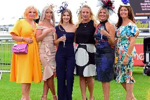 21 glamorous pictures from St Leger Festival Ladies Day 2019