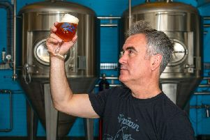 American Dann Paquette chose Sheffield to set up the Brewery of St Mars of the Desert. Picture Scott Merrylees
