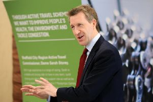 Sheffield City Region mayor Dan Jarvis. Pic: Chris Etchells