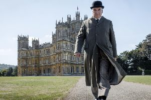 Jim Carter as Carson in Downton Abbey