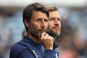 New Huddersfield Town manager Danny Cowley: Plenty of work ahead.