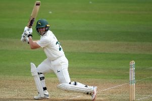 Ben Slater, who led Chesterfield's successful run chase. (PHOTO BY: Alex Davidson/Getty Images)