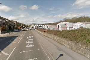 The police pursuit started on Bradford Road, Batley.'Image: Google