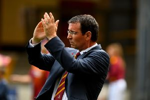 TIGHT STUFF: Bradford City manager Gary Bowyer. Picture: James Hardisty.