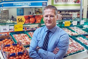 Morrisons' chief executive David Potts